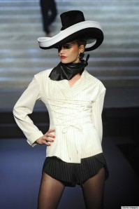 Jean Paul Gaultier - Runway RTW - Spring 2015 - Paris Fashion Week